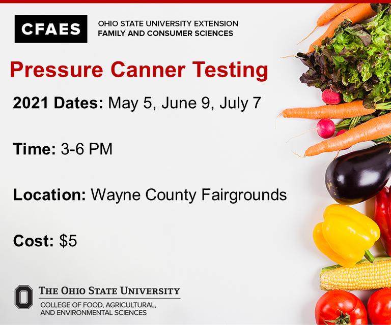 Pressure canner testing details